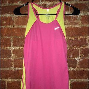Nike razor back tank top